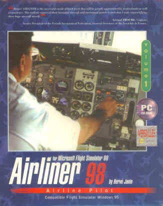 Airliner for MS Flight Simulator 95/98