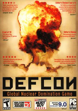 Defcon Global Nuclear Domination Game