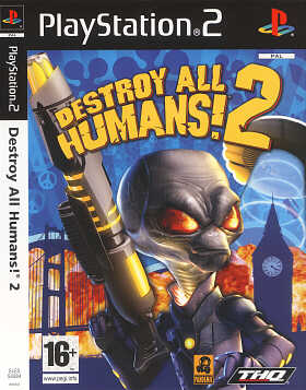 Destroy all Humans 2 Playstation 2
