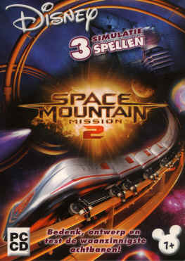 Disney Space Mountain Mission 2