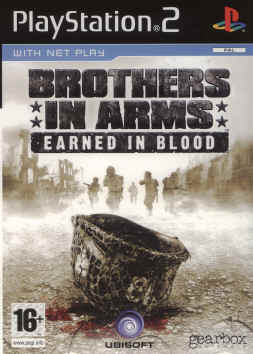 Brothers in Arms Earned in Blood Playstation 2
