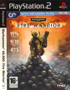 Warhammer 40.000 Fire Warrior for Playstation 2