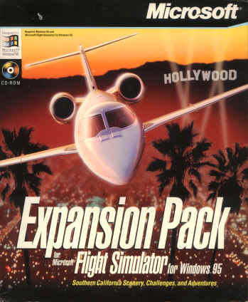 Epansion Pack for MS Flight Simulator 95