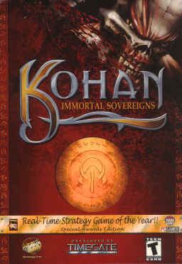Kohan Immortal Sovereigns RTS GOTY Edition