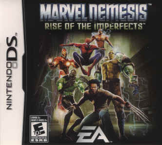 Marvel Nemesis Rise of the Imperfects for Nitendo DS
