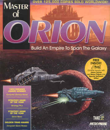 Master of Orion Apple Macintosh