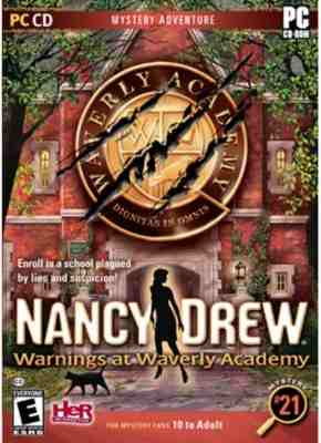 Nancy Drew 21 Warnings at Waverly Academy
