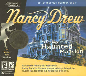 Nancy Drew 3 Message in a Haunted Mansion