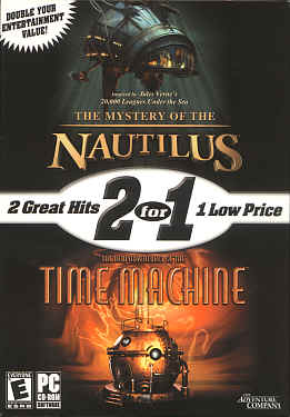 The Mystery of the Nautilus & The Time Machine