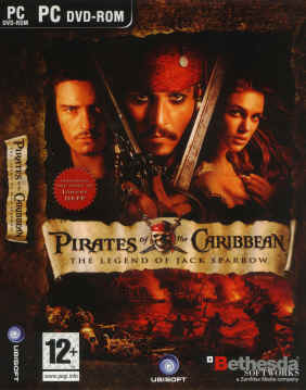 Pirates of the Caribbean The Legend of Jack Sparrow PC DVD-Rom