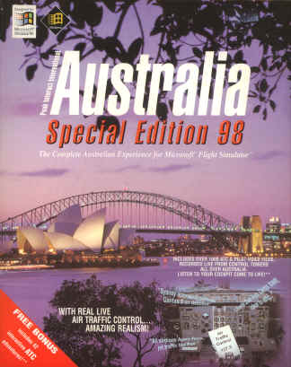Australia Special Edition for MS Flight Simulator 5.1/6.0/95/98