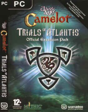 Dark Age of Camelot Trials of Atlantis Official Expansion Pack