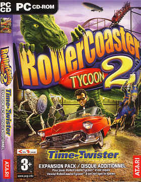 RollerCoaster Tycoon 2 Time-Twister