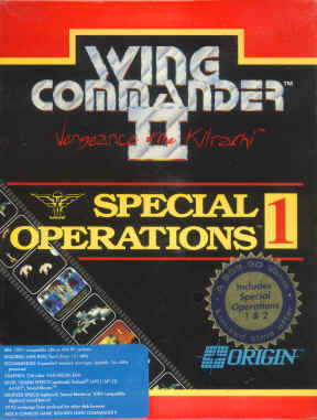 Wing Commander II Special Operations 1 and 2