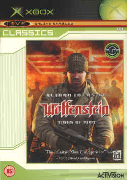 Return to Castle Wolfenstein Tides of War for X-Box