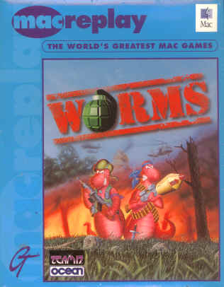 Worms for Apple Macintosh